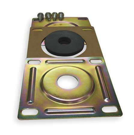 Suction Flange, hyd, Steel, For 3/4 In Pipe