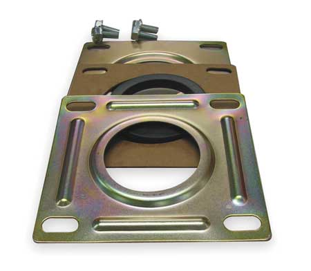 Suction Flange, hyd, Steel, For 2 In Pipe