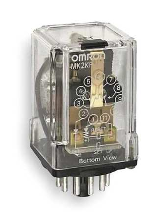 Latching Relay, 11 Pins, Octal, 120VAC