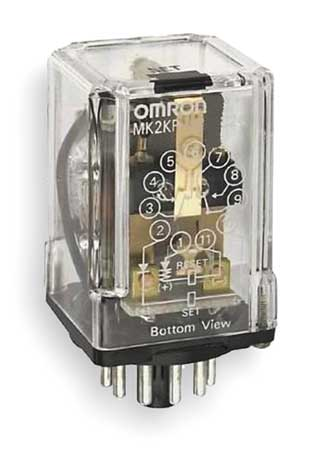 Latching Relay, 11 Pins, Octal, 24VAC