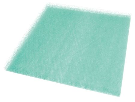 Paint Collector Filter Pad, 2 In. D, PK50