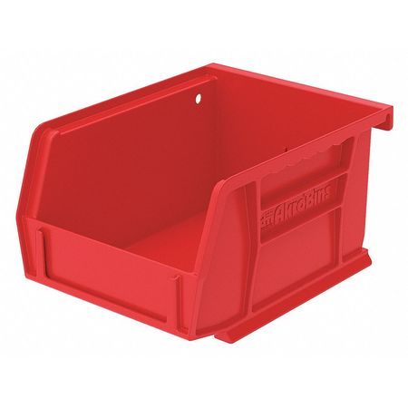 Hang/Stack Bin, 5-3/8 x 4-1/8 x 3,  Red