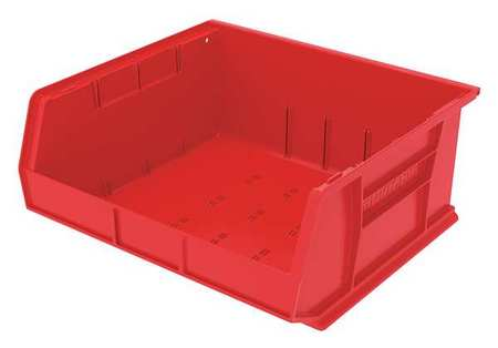Hang/Stack Bin, 7x16 1/2x14 3/4,  Red