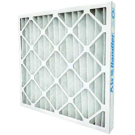 "Standard Capacity Pleated Filter,  24""x24""x4"",  MERV 7,  Min. Qty 6"