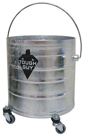 Bucket, 8 gal., Silver