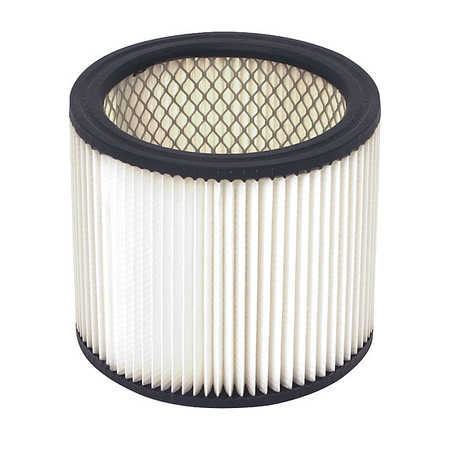 Filter, Dry, Cartridge Filter, Paper, 6-1/2""
