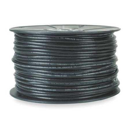 Coaxial Cable, RG-62/U, 22 AWG, Black