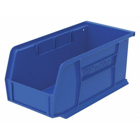 Hang/Stack Bin, 10-7/8 x 5-1/2 x 5, Blue