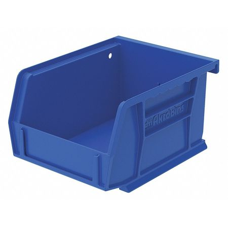 Hang/Stack Bin, 5-3/8 x 4-1/8 x 3, Blue