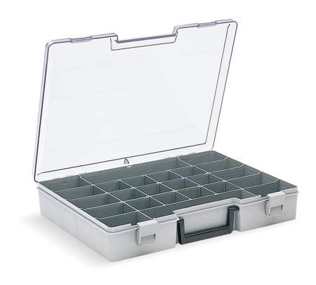 "Compartment Box,  12-1/2"" W x 11-3/4"" L x 2-1/2"" H"