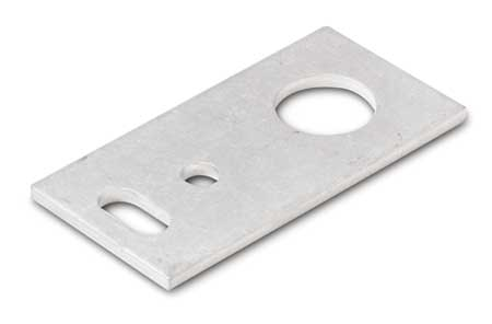 Bracket, Flat, Alum, For 18mm Sensors