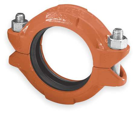 "Standard Coupling, 2-1/2"", Iron, 1000 psi"