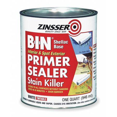 Primer/Sealer Stain Killer, White, 1 qt.
