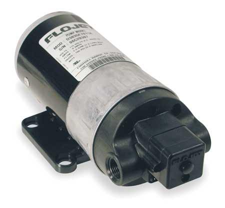 "3/8"" Polypropylene Duplex Diaphragm Industrial Pump 2 GPM"