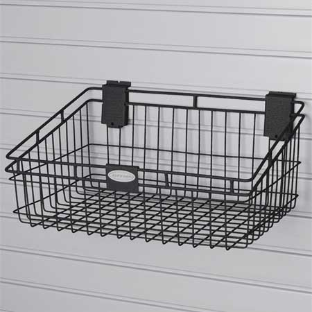 Storage Basket, H 8 3/8, W 18, PK4