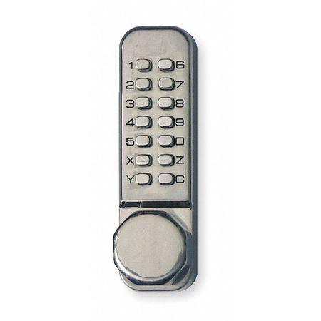 Push Button Lock, Entry, Passage, Stainless