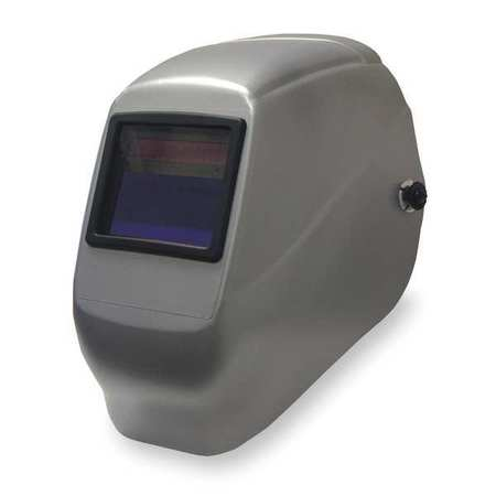 Welding Helmet, Shade 9 to 13, Silver