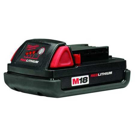 milwaukee m18 battery pack 18v 1 5ah li ion 48 11 1815. Black Bedroom Furniture Sets. Home Design Ideas