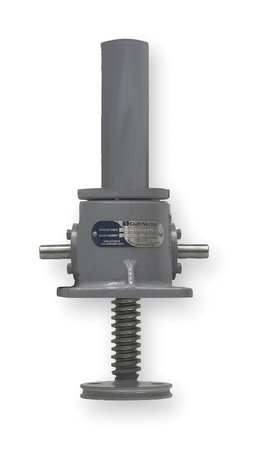 Machine Screw Actuator, 4000 lb, 9 In TVL