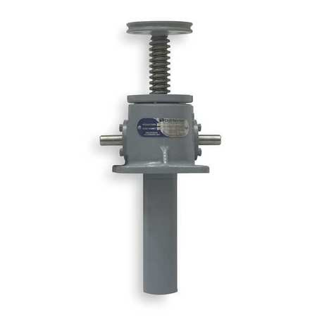Machine Screw Actuator, 2000 lb, 12 In TVL