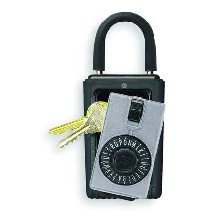 Lock Box, Padlock, 3 Keys