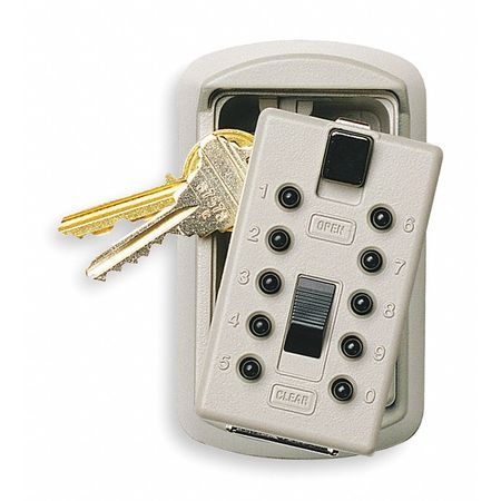 Lock Box, Surface Mount, 2 Keys