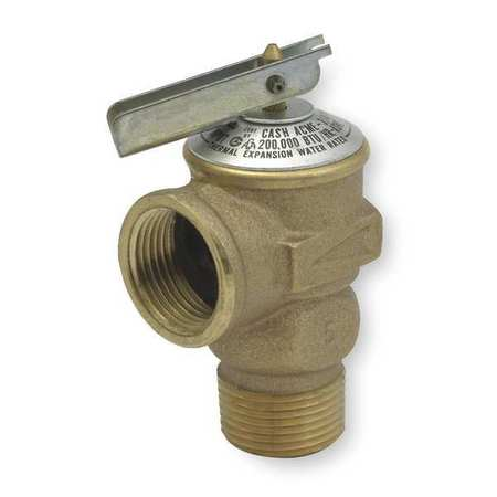 Safety Relief Valve, 3/4In, 150 psi, Bronze