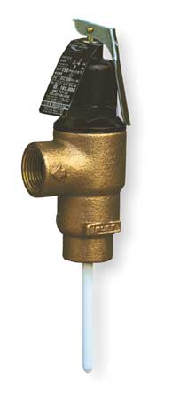 T and P Relief Valve, MNPT x FNPT