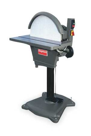 Disc Sander, 20 In, 3 HP, 220V, 3 Ph