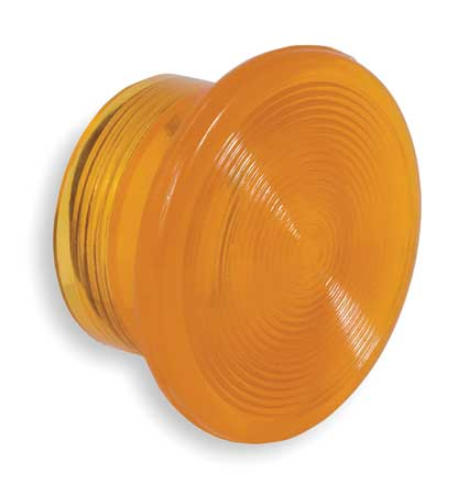 Illuminated Push Button Cap, 30mm, Amber