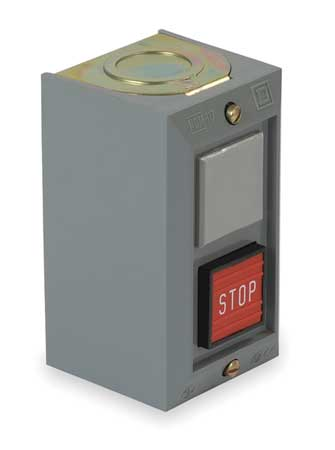 Push Button Cntrol Station, 1NC, Stop, 30mm