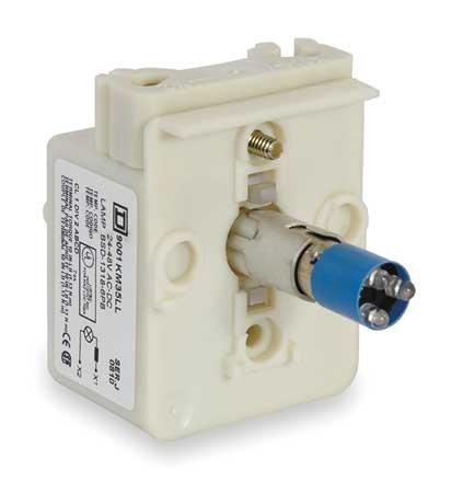 Lamp Module, 30mm, 120VAC/VDC, Blue, LED