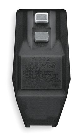 Plug-In GFCI, Blk, 15A, 5-15P, Rainprf, 120V