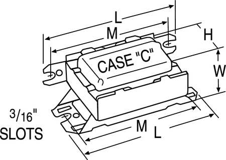 CFL Ballast, Magnetic, 16W, 120V