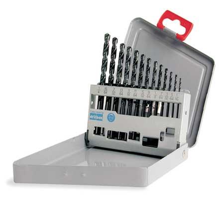 Jobber Drill Set, 13 PC, HSS, 135 Deg