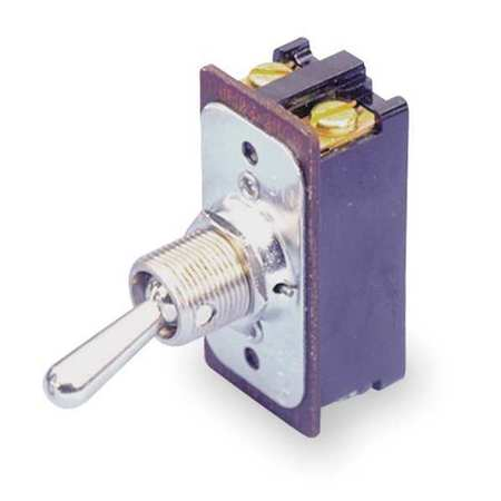 Toggle Switch, DPST, 8A @ 250V, Screw