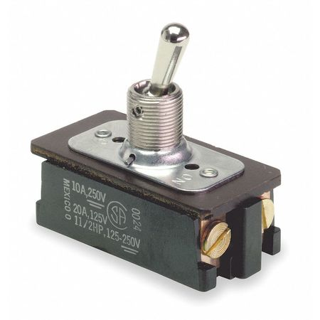 Toggle Switch, DPST, 10A @ 250V, Screw