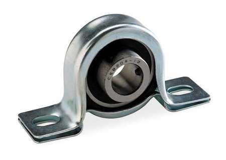 "Pillow Block Bearing, Ball, 1/2"" Bore"