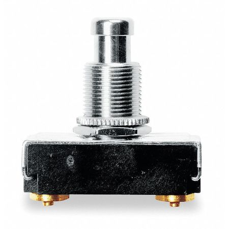 Miniature Push Button Switch, 15A @ 125V