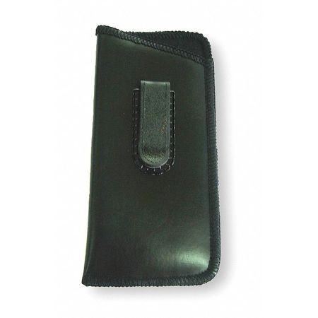 Eyewear Case, Bk, 3 H x 6-1/4 In W, Vinyl