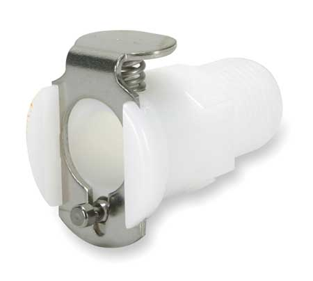 Inline Coupler, Acetal, Straight-Through