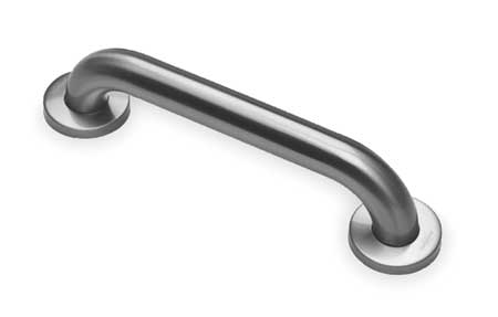 Grab Bar w/Anti-Microbial, Smooth, 16 In L