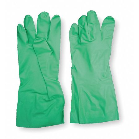 Chemical Resistant Glove, 11 mil, Sz 10, PR