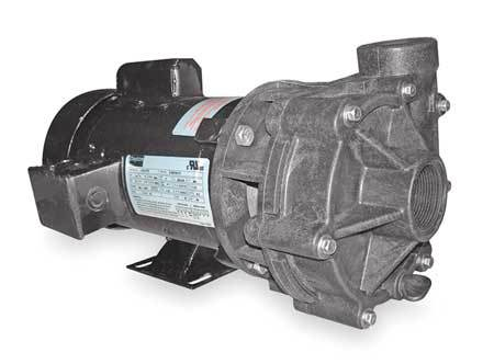 Centrifugal Pump,  2 HP, 1 Ph, 115/208-230V