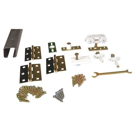 Folding Door Track & Hardware Kit