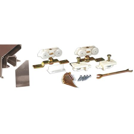 Sliding Door Sidewall Mount Track  Kit