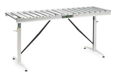 ConveyorTable, 17 Rollers, 22In.Btwn Frame