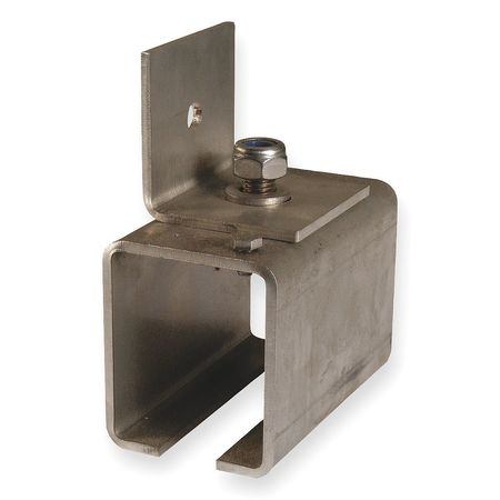 Side Wall Mt. SS Track Jointing Bracket