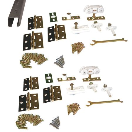 Track and Hardware Kit, 96 In