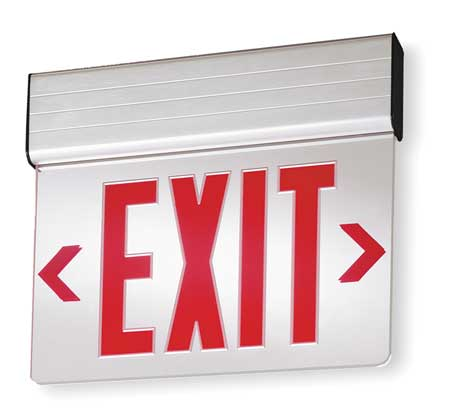 ACUITY LITHONIA Aluminum LED Exit Sign